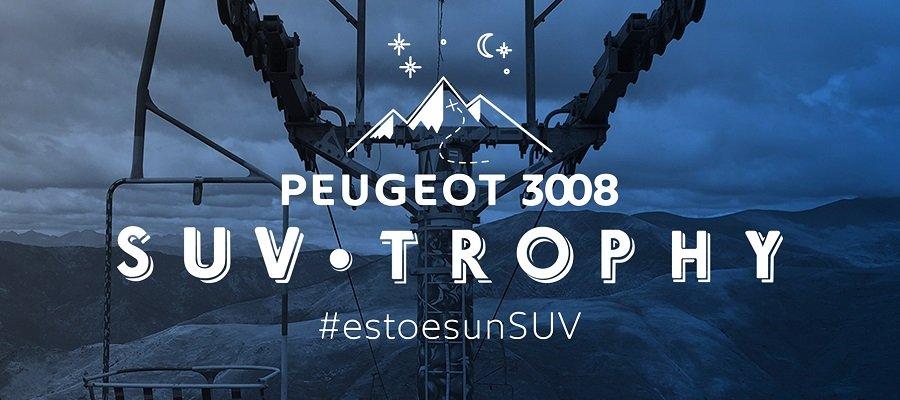 El 3008 protagoniza el nuevo Peugeot SUV Trophy