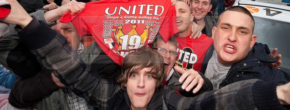 ¡Los hinchas del Manchester United, en peligro en Ucrania!