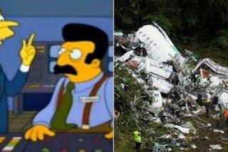 El 'profético' capítulo de los Simpsons que relacionan con la tragedia del Chapecoense