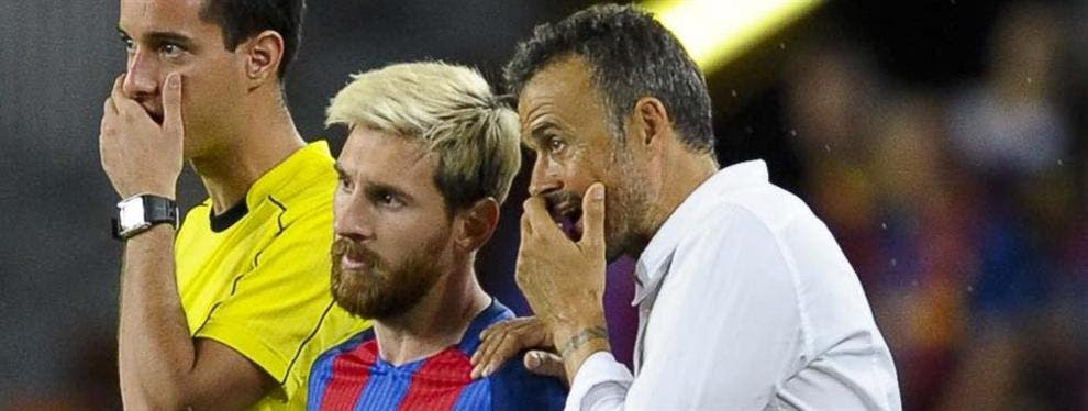Luis Enrique restriega por la cara a Cristiano que Messi es el número uno