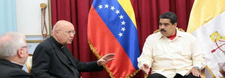 """Aldo Giordano, a los jóvenes anti-Maduro: """"Tengan confianza en el Papa Francisco"""""""
