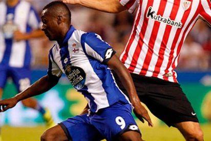 Marlos Moreno 'corta la respiración' en La Coruña... con final feliz