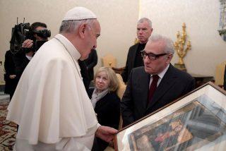 El Papa recibió a Scorsese antes del estreno de