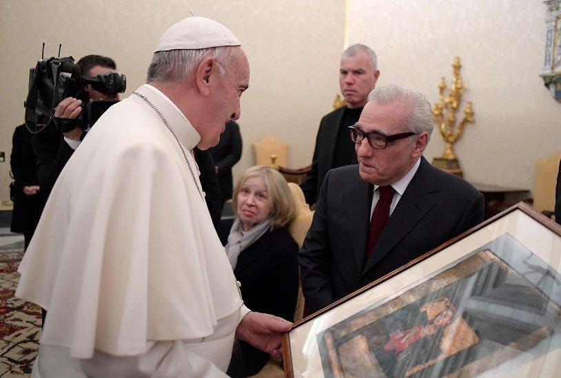 "El Papa recibió a Scorsese antes del estreno de ""Silence"""