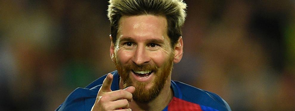 ¡Messi exige 30 millones de euros limpios al Barcelona para renovar su contrato!