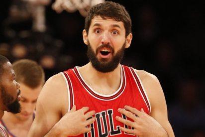 Mirotic se exhibe en el triunfo (118-88) de los Bulls contra los Nets