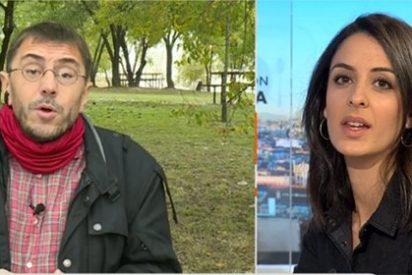 Rita Maestre saca toda su chulería para arrear a Monedero por 'hacerse líos' en la pugna podemita por Madrid
