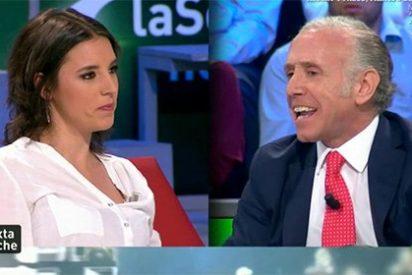 """La déspota y altanera 'primera dama' podemita a Inda: """"Guardas tus papelitos para el juzgado"""""""