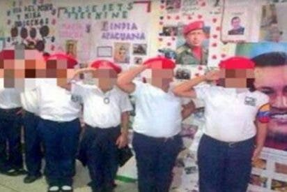 El vergonzoso vídeo de los amigos de Podemos adoctrinando a niños en una escuela chavista