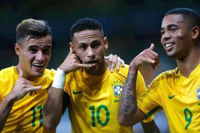 El Brasil de Neymar le casca un 0-2 a Perú a domicilio