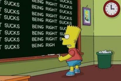 """Los Simpson están muy arrepentidos de predecir la victoria de Trump: """"Haber acertado es una mierda"""""""