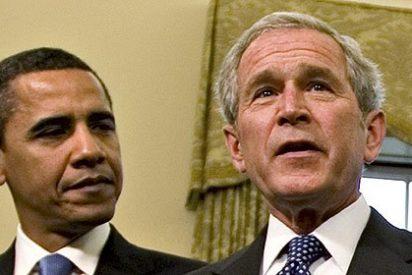 El ex mandatario George W. Bush vota en blanco en las elecciones presidenciales