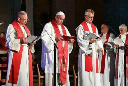 """Monseñor Carlos López: """"El milagro inesperado del Papa en la catedral luterana de Lund"""""""