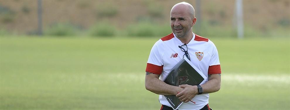 Otro jugador del Sevilla amenaza con dejar plantado a Jorge Sampaoli
