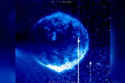 El extraño y gigantesco OVNI azul que ha captado la NASA cerca del Sol