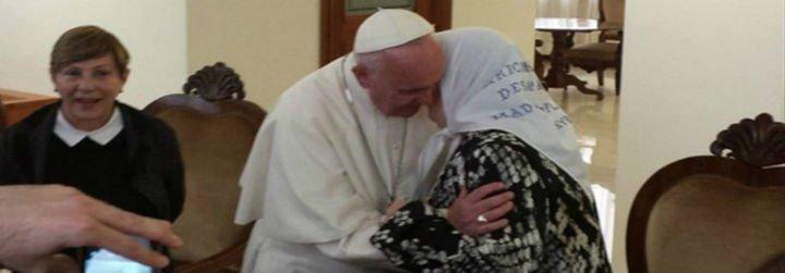 """Hebe de Bonafini, al Papa: """"El pueblo tiene miedo, ayúdanos"""""""