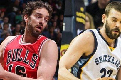 Los Gasol contribuyen a las victorias de los Spurs y los Grizzlies