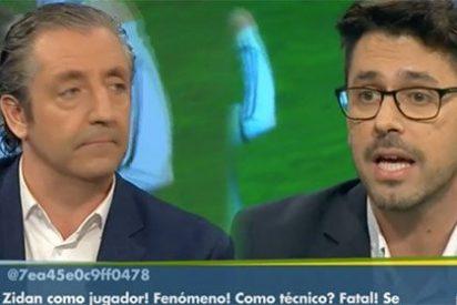 """Pedrerol se engancha con Morales: """"¡Hoy tápate y no defiendas a Morata! Aquí palmeros no tenemos"""""""
