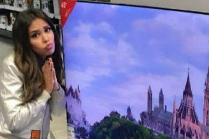 Cristina Pedroche, insultada y machacada por pedir que le regalen una TV de plasma en las redes sociales