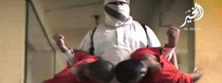 El terrorífico vídeo de los degollados en un matadero por ISIS versión inglesa... ¡con Tom Cruise!