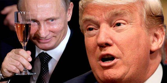 La 'amorosa' charla telefónica entre Trump y Putin que deja 'colgado' a muchos
