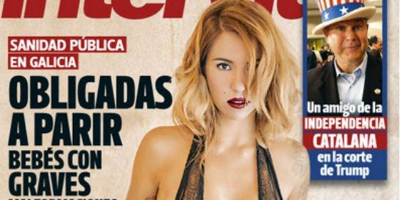 Rebeca La Ninguneada De Gh17 Se Desnuda Completamente En Interviú