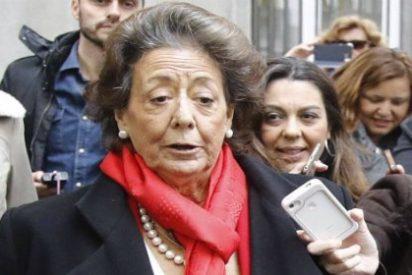 El SMS que mandó Rita Barberá sobre una amenaza de muerte la noche antes de morir
