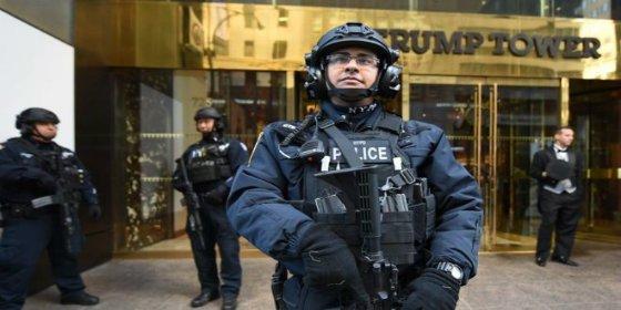 El enorme despliegue de seguridad para proteger al presidente electo Trump en NY