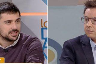 """La pregunta de Sergio Martín que desahucia al caradura de Ramón Espinar: """"¿Usted vive como predica?"""""""