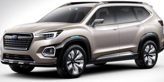 Subaru VIZIV-7, un SUV que anticipa el futuro