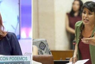 """'La Sultana' manda al rincón a Iglesias y Teresa Rodríguez: """"Han embrutecido la política"""""""