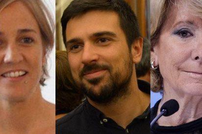 Según Tania Sánchez, la culpa de sus 'chanchullos' con pisos de ella y el de Ramón Espinar la tiene...¡Esperanza Aguirre!