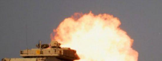 [VÍDEO] El misil ruso del ISIS que abrasa a los ocupantes de un tanque estadounidense