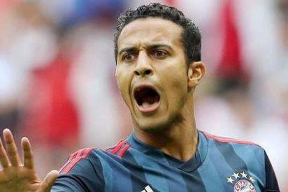 Thiago Alcántara, el canterano del Barça que sale en defensa de Cristiano Ronaldo