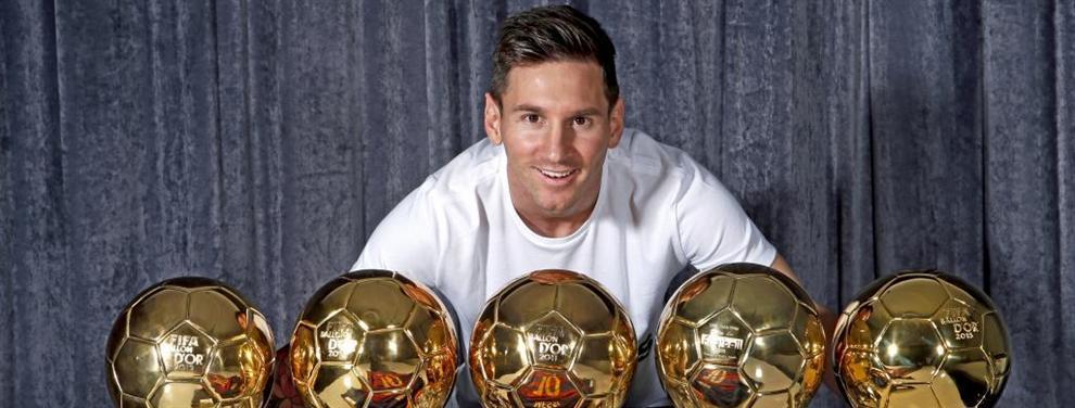 ¿Tiene interés la France Football en que Messi gane el Balón de Oro?