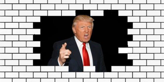 ¡Apisonadora Trump!: ratifica que la construcción del muro con México será una prioridad