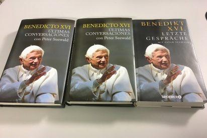"""Presentación en Madrid de las """"Últimas conversaciones"""" de Benedicto XVI"""