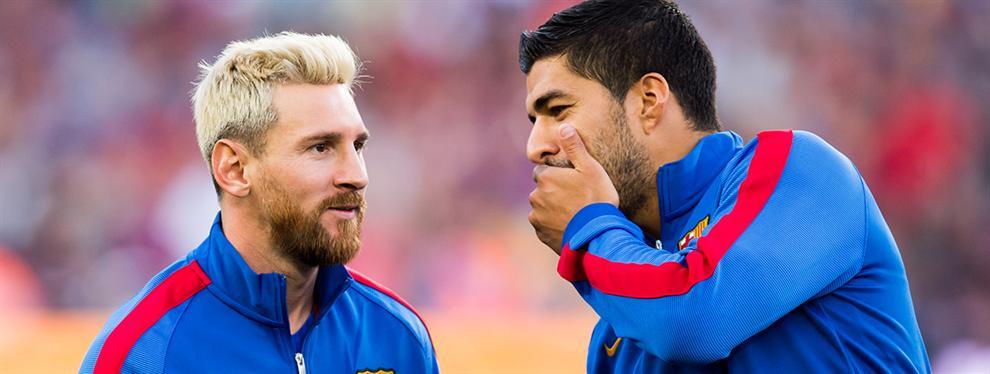 Messi y Suárez se escapan en el Pichichi