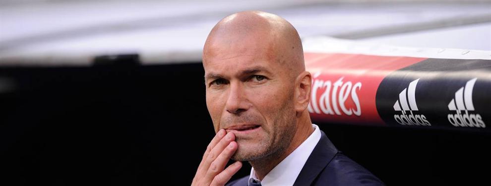 Zidane monta un lío a un jugador del Madrid antes del derbi