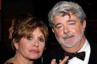Las emotivas palabras de George Lucas a Carrie Fisher