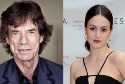 Mick Jagger, vuelve a ser padre por octava vez a los 73 años con una mujer 40 años más jóven