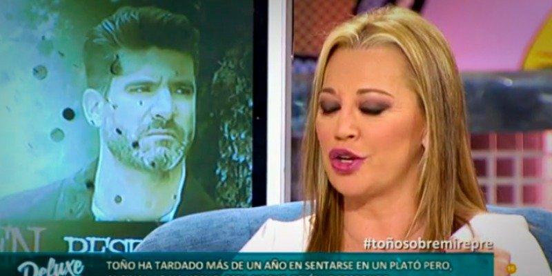Belén Esteban estalla contra Toño Sanchís y de paso se queja de Ana Rosa Quitana
