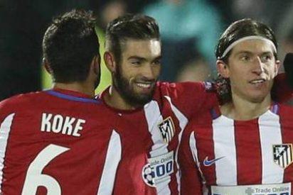 Filipe Luis recibe al alta médica y viaja con el Atlético a Arabia Saudí