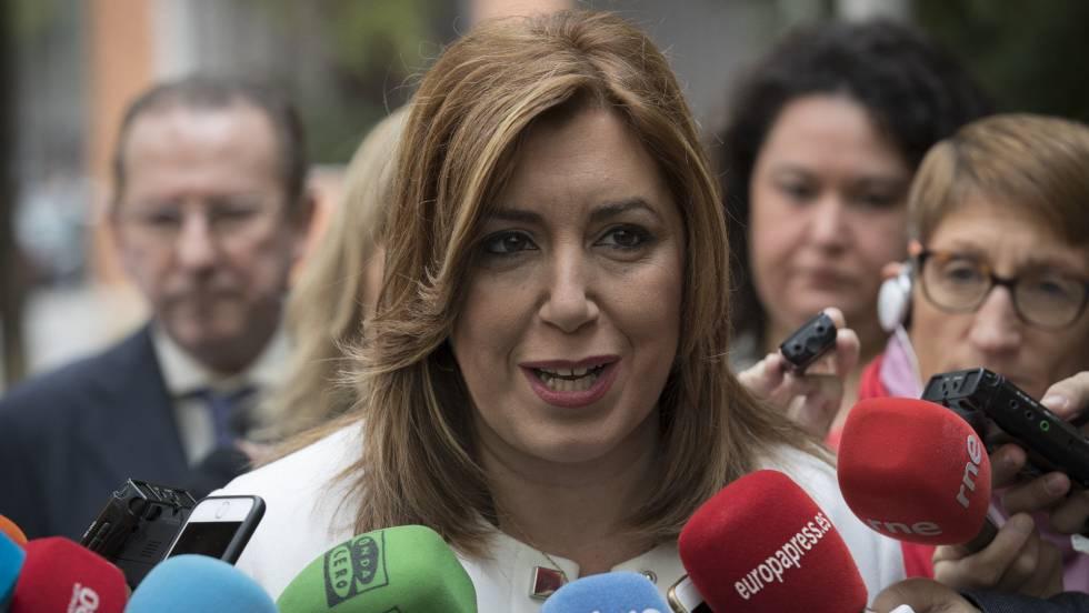 Susana Díaz y sus siete magníficos que la llevan en volandas hacia la cumbre del PSOE