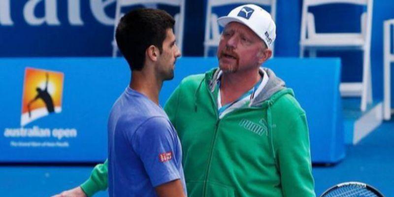 """Boris Becker cree que Djokovic """"no pasó mucho tiempo"""" entrenando el último medio año"""