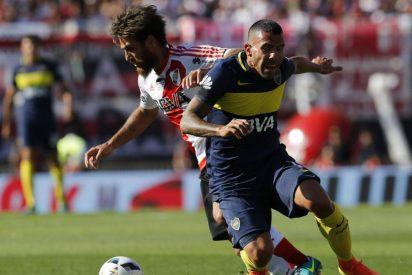 El Boca Juniors asalta el Monumental y se lleva el clásico argentino