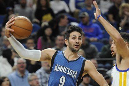Ricky Rubio y Mirotic aportan en las victorias de Timberwolves y Bulls, y Abrines cae