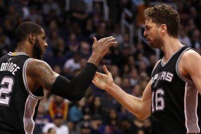 Pau Gasol destaca en otro triunfo de los Spurs a domicilio y Willy aprovecha minutos en los Knicks