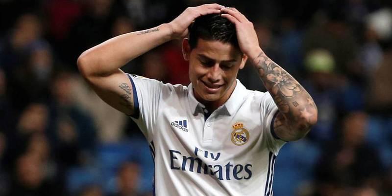 La afición del Real Madrid quiere que Florentino venda a James Rodríguez