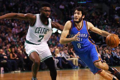 Abrines pide paso en la NBA en un partido en el que Westbrook ejecutó otra brutalidad